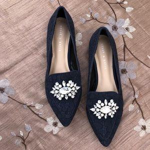 Kelly & Katie Lovelian Dark Blue Flats Shoes  9.5